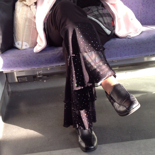 Sparkling pants for over 60s