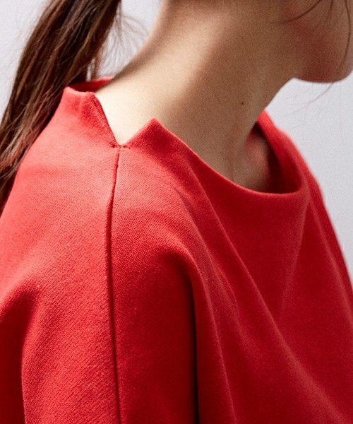UNITED TOKYO(ユナイテッドトウキョウ)の「シャインソフト裏毛スリットカットソー(Tシャツ/カットソー)」|詳細画像