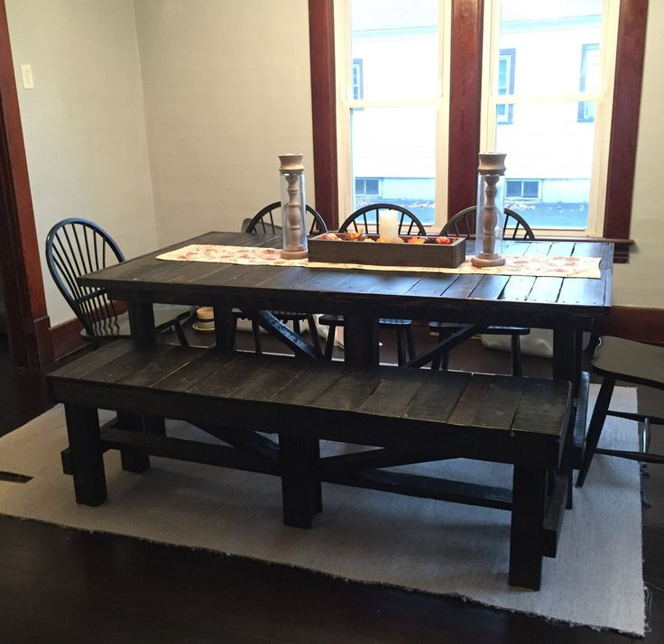 Best 25 country bench ideas on pinterest yellow in for Pallet kitchen bench