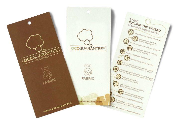 OCCGUARANTEE® | Organic Cotton Colours