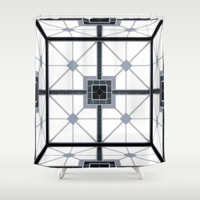 Cube film inspiration Shower Curtain by Freak Shop | Freaks & Geek Products - New Design Available $68.00