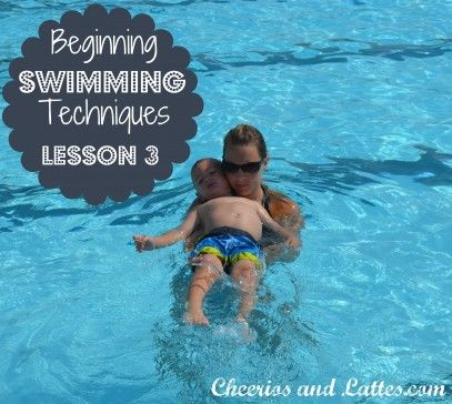 Lots of great swimming lesson ideas for teaching at home