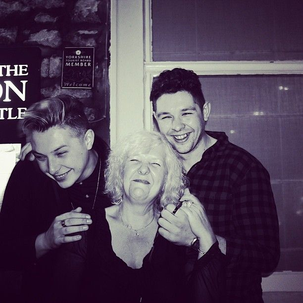 John Newman and family :)