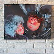 Купить Постер-влюблённые - подарок на любой случай, влюбленная пара, фото, баннер, дизайн интерьера