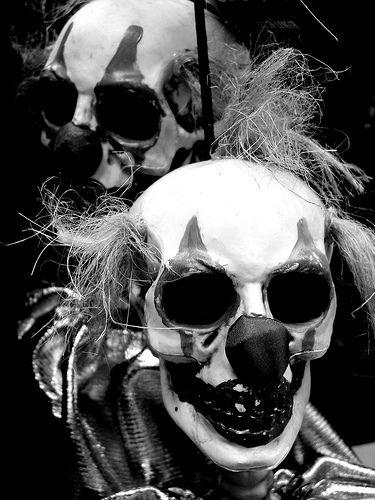 Skeleton Crazy Clowns | by tumultuouswoman