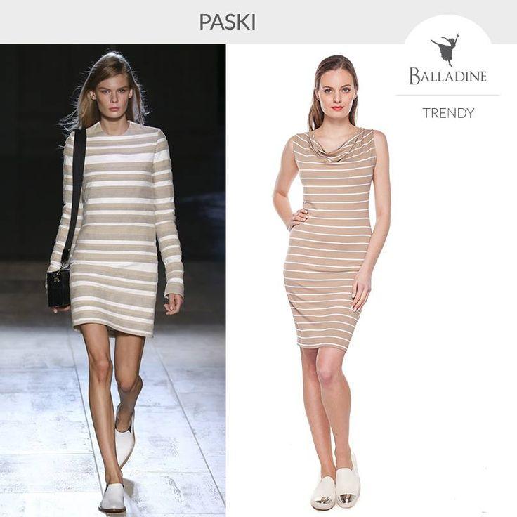 Jak co roku o tej porze powraca trend marynistyczny, paski to hit lata i nie mogło ich zabraknąć na nowojorskim tygodniu mody (tu pokaz Victorii Beckham). Polscy projektanci również o nim nie zapomnieli, zobaczcie co zaproponowała marka Cotton Club!  Sukienka Cotton Club: na wzrost 170cm | http://goo.gl/Z2VI1d na wzrost 164 cm | http://goo.gl/4KZeqw
