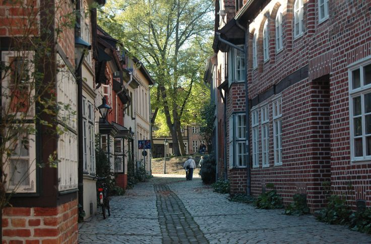 Sie können viel entdecken in Lüneburg.