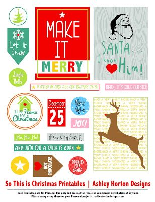 152 best december daily printables images on pinterest christmas ideas december daily and la. Black Bedroom Furniture Sets. Home Design Ideas