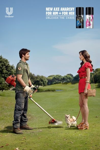 noooo, poor puppy. Axe ad by BBH