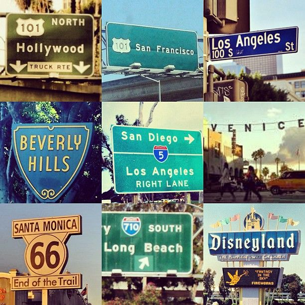 California. I have heard so much about this place from my mum. I want to visit it all!!!