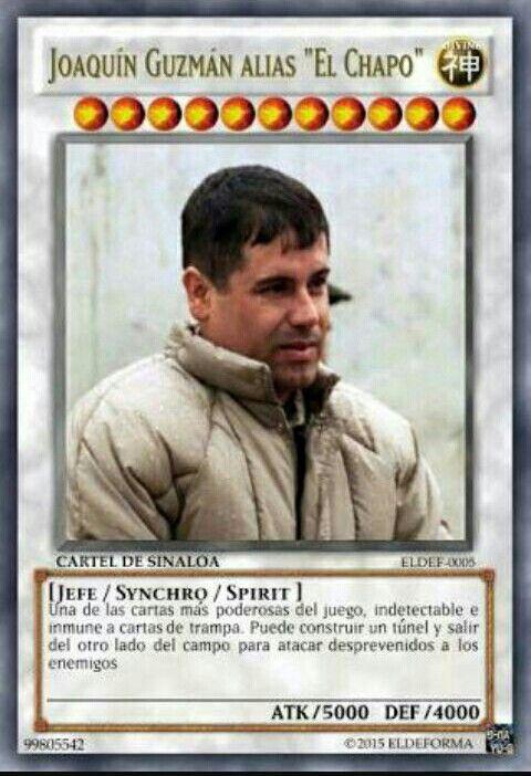 """Jiaquín Guzmán alias """"El Chapo"""""""