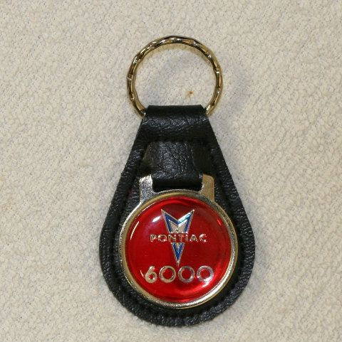 VIntage Pontiac 6000 Leather Keychain by SweetDiggs on Etsy
