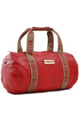Sac polochon david jones Rouge