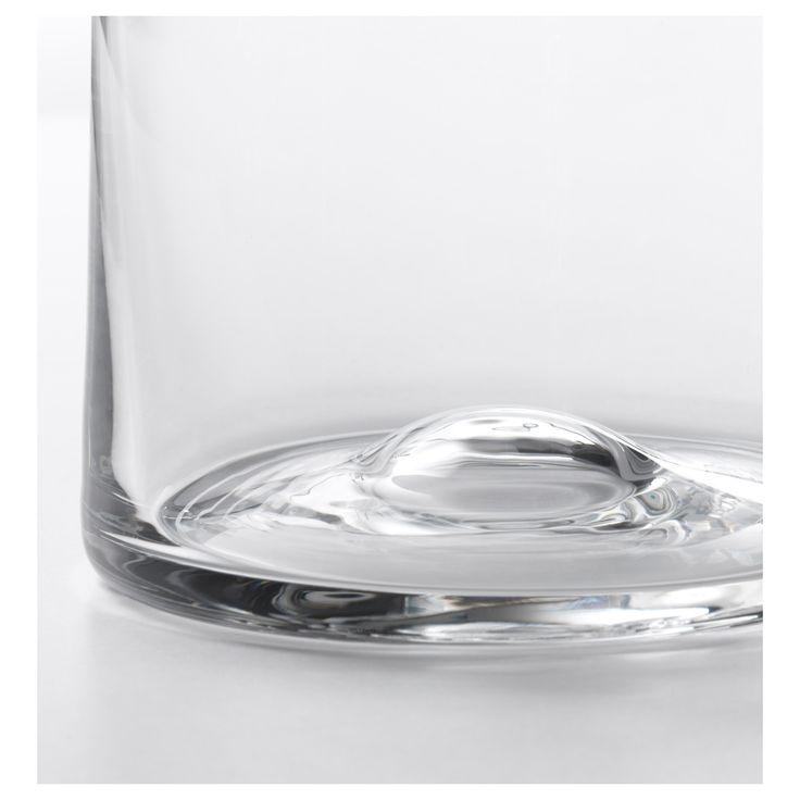 IKEA - TIDVATTEN Vase clear glass