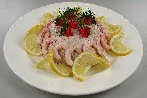 Tun mussé med rejer og caviar 4