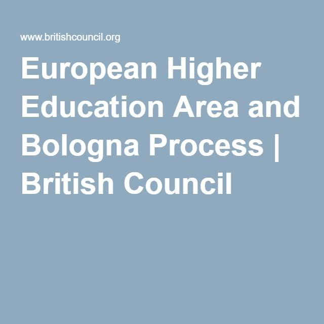 European Higher Education Area and Bologna Process | British Council