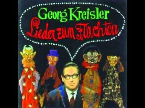 Georg Kreisler  Der Ausländer
