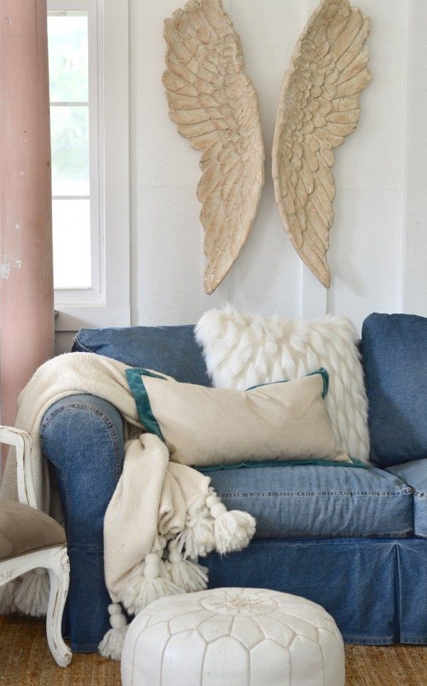 Have A Sofa You Hate? Here's How to Love It Today {A VIDEO!}