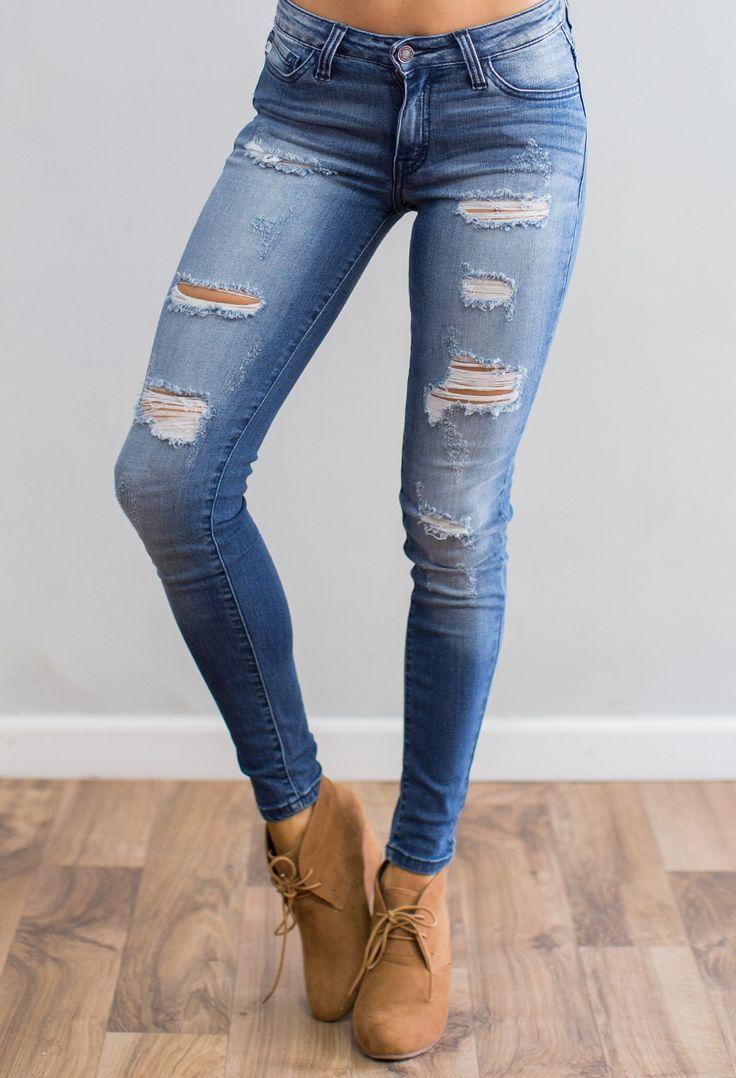 Darkstone Kan Can Skinny Jean