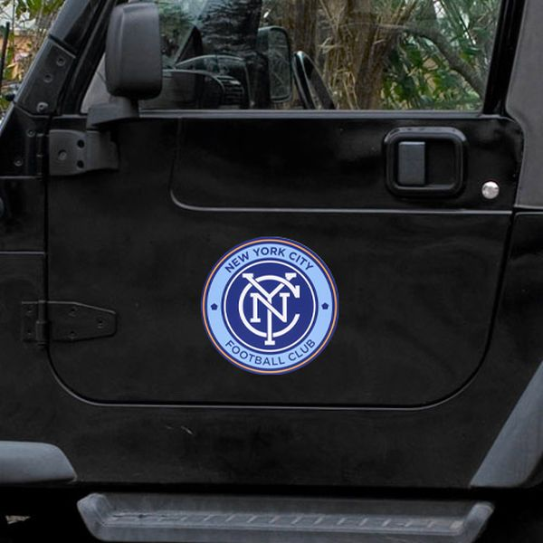 New York City FC 12'' x 12'' Car Magnet - $6.95