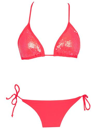 19 Hot AF Swimsuits Under $100 | Pinterest | Sequin bikini, Neon and Sequins