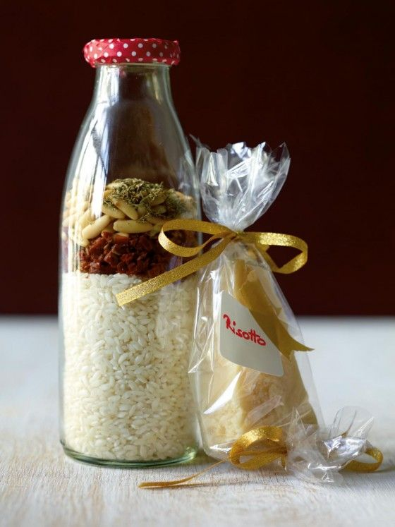 Tomaten-Thymian-Risotto - Weihnachten: Geschenke aus der Küche