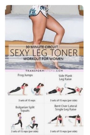 Sexy Leg Toner - 30 Min#Health&Fitness#Musely#Tip