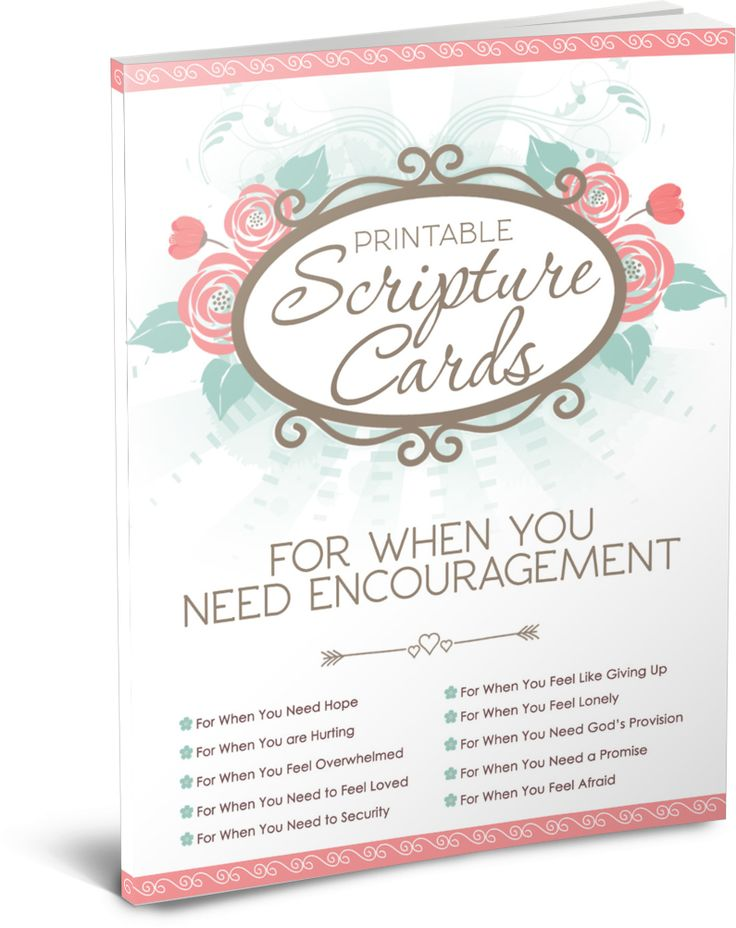 Nothing can ever replace in-real-life friendships, but sometimes we don't have that available. These Scripture cards are just what the doctor ordered. Encouragement for your best days, worst days, and your every days