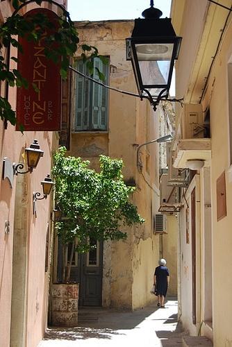 De regresso a casa Rethymno Creta