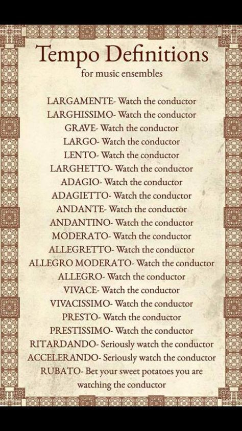 When in doubt, watch the conductor.<<--here I was thinking this was a helpful list but this is true :)