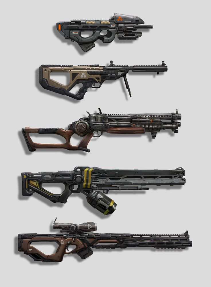 ArtStation - Weapon Concepts, Eddie Mendoza