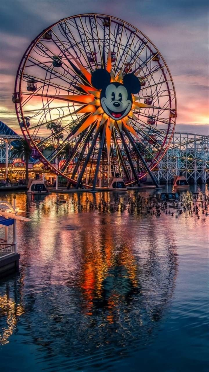 Mickeys Fun Wheel Mobile Wallpaper Disney California Adventure Wallpaper