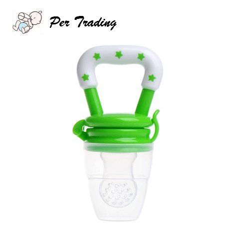 Per Safe Silicone Baby Food Feeder Pacifier with Fresh Vegetables and Fruits for Feeding Toddlers Soft Feeding Tool Canada 5.00