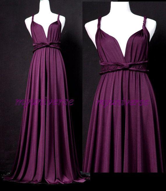 Chiffon Infinity Dress: 1000+ Ideas About Wrap Bridesmaid Dresses On Pinterest