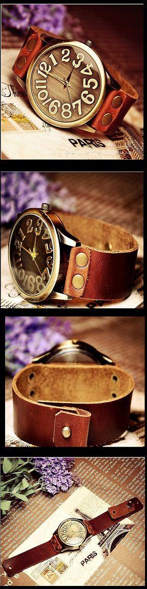 Stan Vintage Watches | Handmade vintage retro leather men's wrist watch (WAT0022) | Online Store Powered by Storenvy