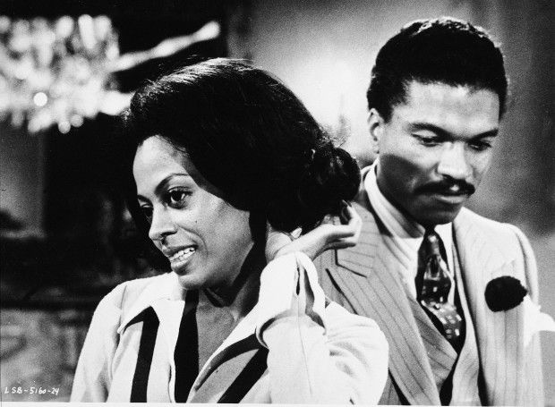 "File – Diana Ross and Billy Dee Williams in ""Lady Sings The Blues,"", a Motown-Weston-Furie Production. undated photo. (AP Photo)"
