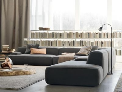 LEMA | The sofa Cloud is characterised by the infinite different compositions its numerous shapes allow. Designed by Francesco Rota, the sofa is conceived for personal interpretation, suitable for both domestic living rooms and larger professional spaces.