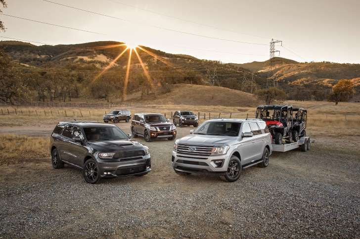 Ford Expedition Vs Chevrolet Tahoe Vs Dodge Durango Vs Toyota Sequoia Vs Nissan Armada Ford Expedition Chevrolet Tahoe Nissan Armada