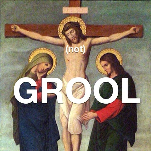 Happy Grool Friday from Mean Girls Art History! #meangirlsarthistory #meangirls #arthistory #goodfriday #grool #good #cool #art #jesus