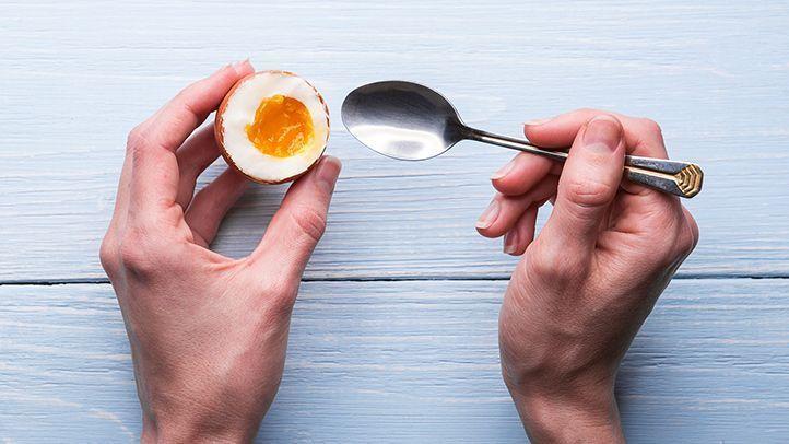Die Diät mit gekochten Eiern funktioniert