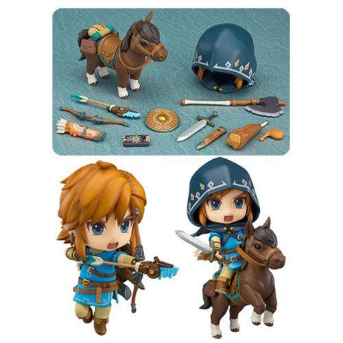 The Legend of Zelda Breath of the Wild Link Nendoroid Action Figure - DX Edition