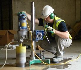 COMPRESSIVE STRENGTH TEST ON CONCRETE CORE - The Constructor