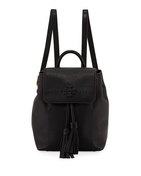 8d2c70da0da7 Get free shipping on Tory Burch McGraw Pebbled Leather Backpack at Neiman  Marcus. Shop the latest luxury fashions from top designers.