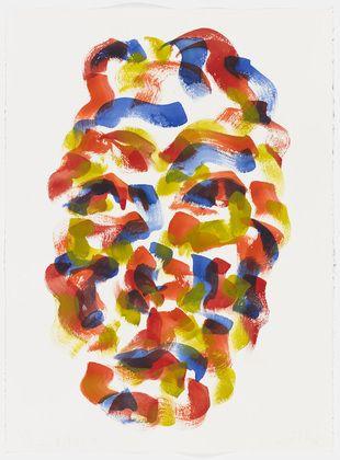 Hannah Wilke. Self-Portrait. January 8, 1987