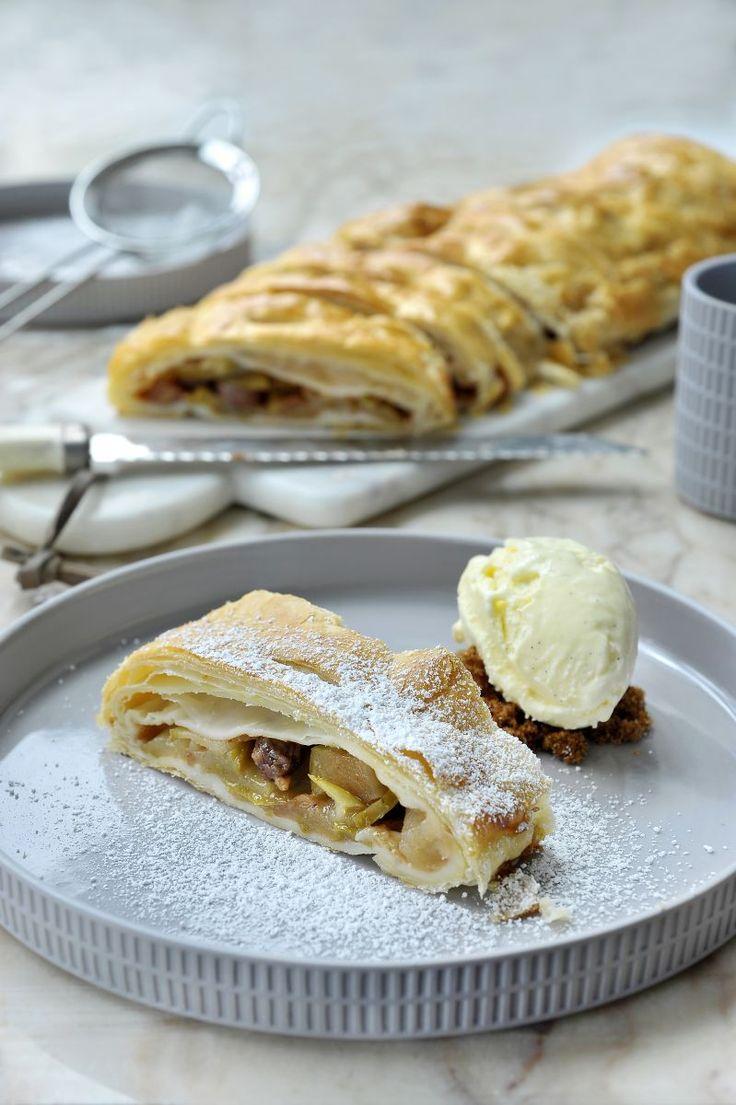 """Het lekkerste recept voor """"Appelstrüdel"""" vind je bij njam! Ontdek nu meer dan duizenden smakelijke njam!-recepten voor alledaags kookplezier!"""