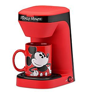New Mickey Mouse Coffee Maker and Popcorn Popper