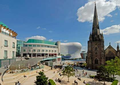Birmingham, UK View of Selfridges and Bull Ring shopping centre.: Small Town, Cities, Most Traveling