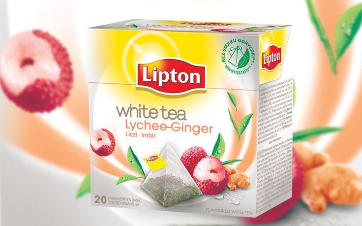 Lipton White Tea Liczi Imbir