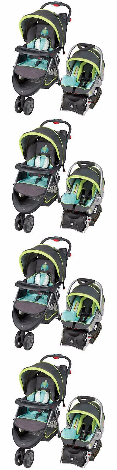 baby and kid stuff: Baby Stroller And Car Seat Combo Travel System Pram Pushchair Toddler Strollers BUY IT NOW ONLY: $194.5