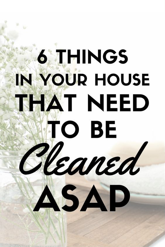 Before you clean anything else - check out this list! You'd be surprised about all the little places in your home you forget to clean! This cleaning list is amazing!